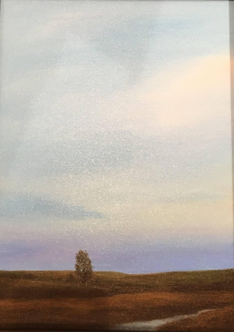 Ahzad Bogosian Tree And Stream Painting For Sale At 1stdibs