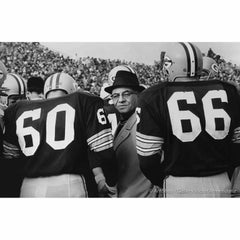 60-Lombardi-66, 1962, Green Bay Packer Coach Flanked by Ed Blaine & Ray Nitschke