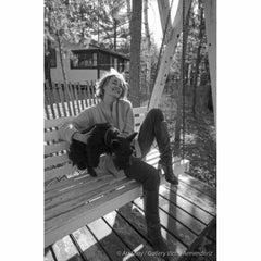 Jessica Lange at her Minnesota Cottage, 1976