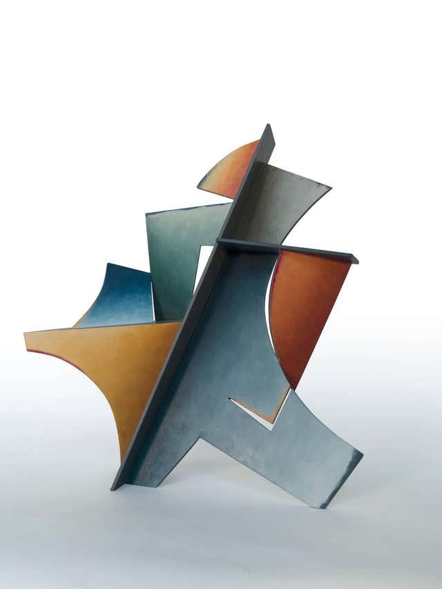 Chris Hill - Hidden Hour - Hand Painted Welded Steel