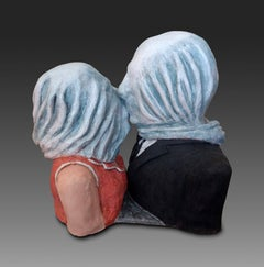 "Magritte's ""The Lovers"""