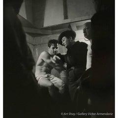 Rocky Graciano in Locker Room After Fight, 1948