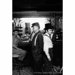 Mock Duel Between Nelson Algren and Marcel Marceau, Chicago, 1958