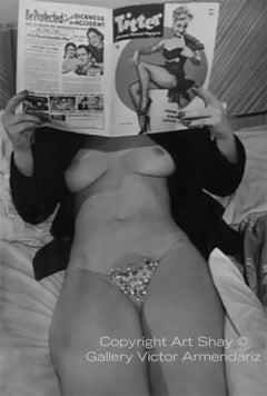 Titter, 1950 vintage photograph