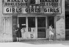 Girls Girls Girls, State St. Strip Joint Near Death, Chicago, 1966