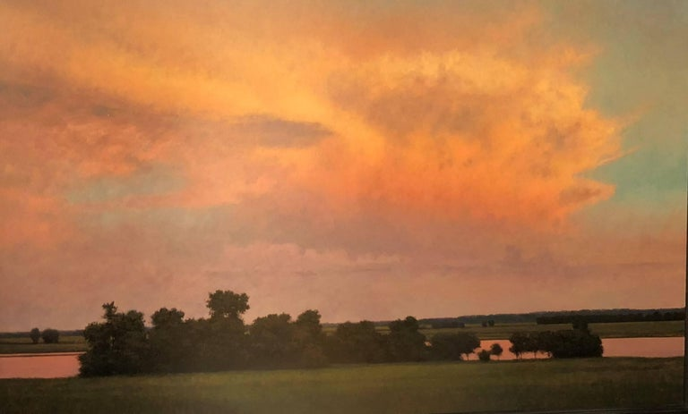Jeff Aeling Thunderstorm Near Alton Il Painting For