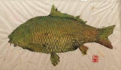 Carp au Natural - Gyotaku technique