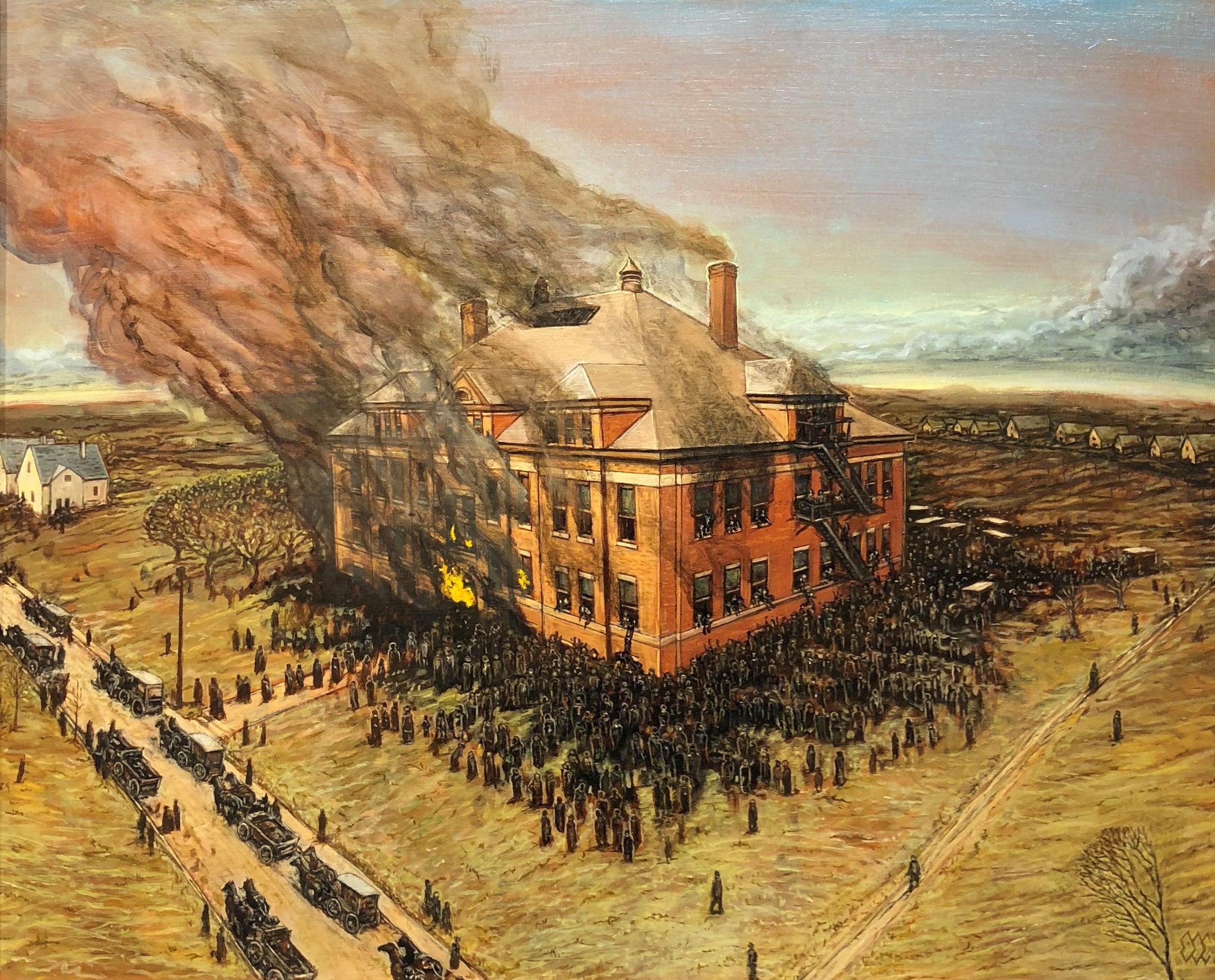 Eric Edward Esper - Collinwood School Fire, Collinwood, Ohio