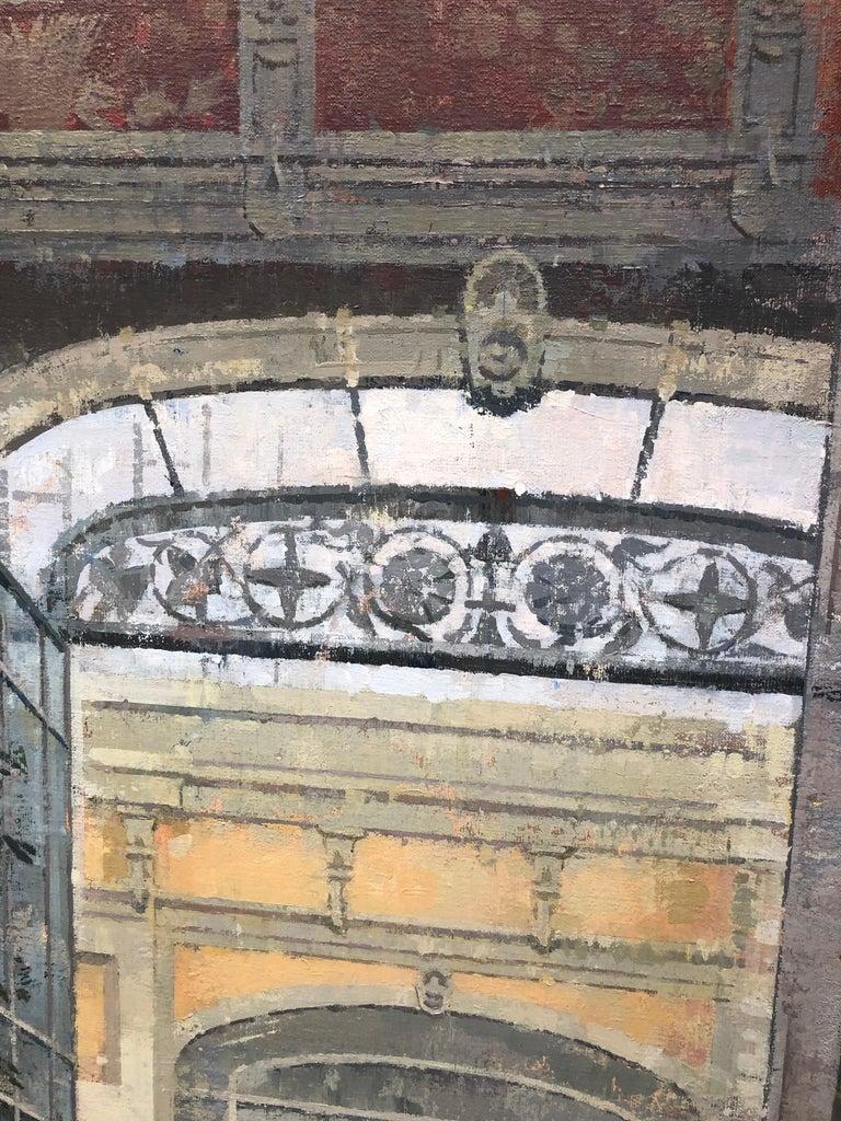 La Ciutadella - Painting of Citadel Park, Barcelona, Spain For Sale 3