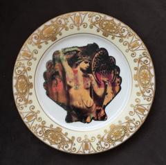 Shell Showgirl Plate
