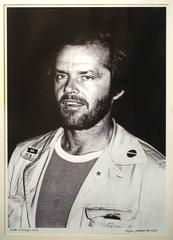 Jack Nicholson photograph from 1972