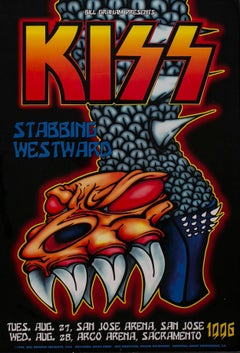 Kiss Poster - Stabbing Westward