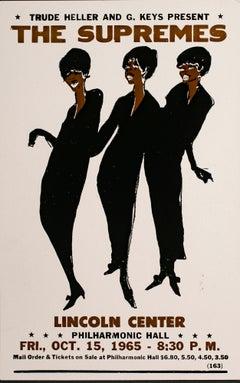 The Supremes Poster, Lincoln Center