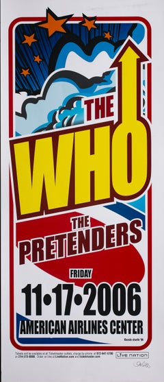 The WHO Poster, Signed by Uncle Charlie