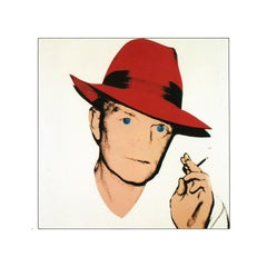 Truman Capote - Red Fedora