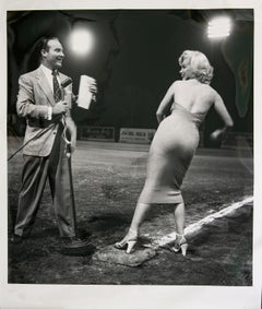 Marilyn Monroe at the Ball Field
