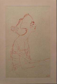 Study: Bust (Red Pencil)