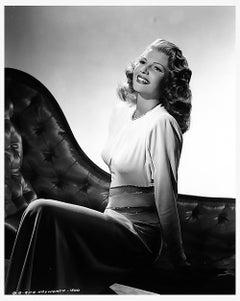 "Rita Hayworth ""One of a Kind"" Original Negative by Robert Coburn"