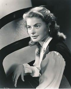 "Ingrid Bergman a ""One-of-a-Kind"" original 8 x 10 negative by Ernest Bachrach"