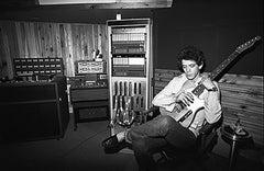 Lou Reed in Recording Studio