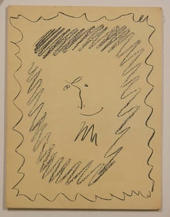 Cover of Tome III of Picasso Lithographs (left side)
