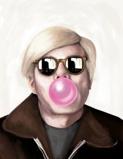 "Andy Warhol Bubblegum, Size 20"" x 16"""