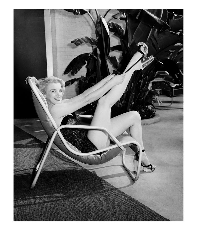Marilyn at the Pool Sitting
