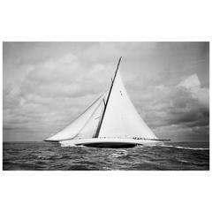 Frank Beken  - Sailing Yacht Cambria, 1930 - Edition of 50