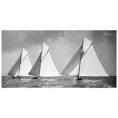 Sailing Yacht Isolde, Penitent & Niagara, 1896 - Edition of 25