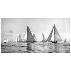 Sailing Yacht Lulworth & Norda (Foreground), 1927