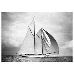 Classic Sailing Yacht Westward, August 1930