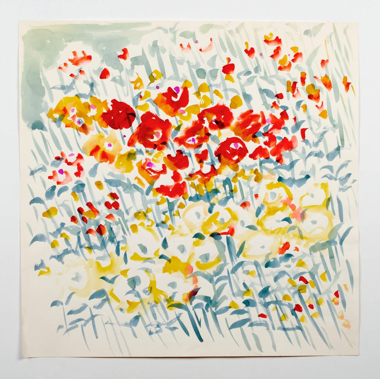 Vera Neumann - Untitled, from the Florals series at 1stdibs