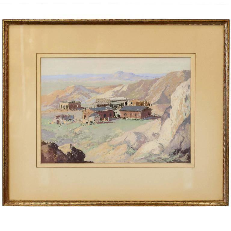 Carl Sammons Landscape Art - California landscape