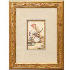 19th Century Drawings and Watercolor Paintings