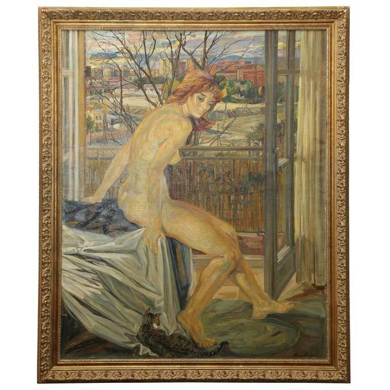 MacMahon Nude Painting - Nude by the Window
