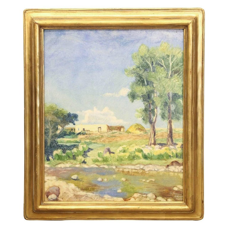 John B. Orth Landscape Painting - St. Wiesner