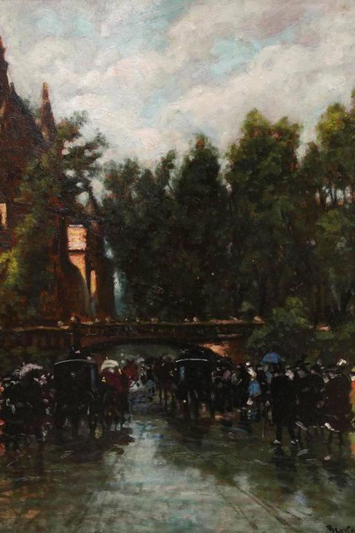 La Belle Epoque - Painting by Antal Berkes