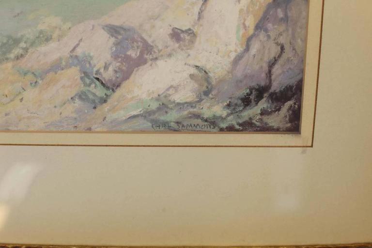 California landscape - Impressionist Art by Carl Sammons