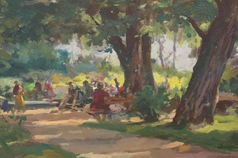Sunny Afternoon - Painting by Ferenc Gaal