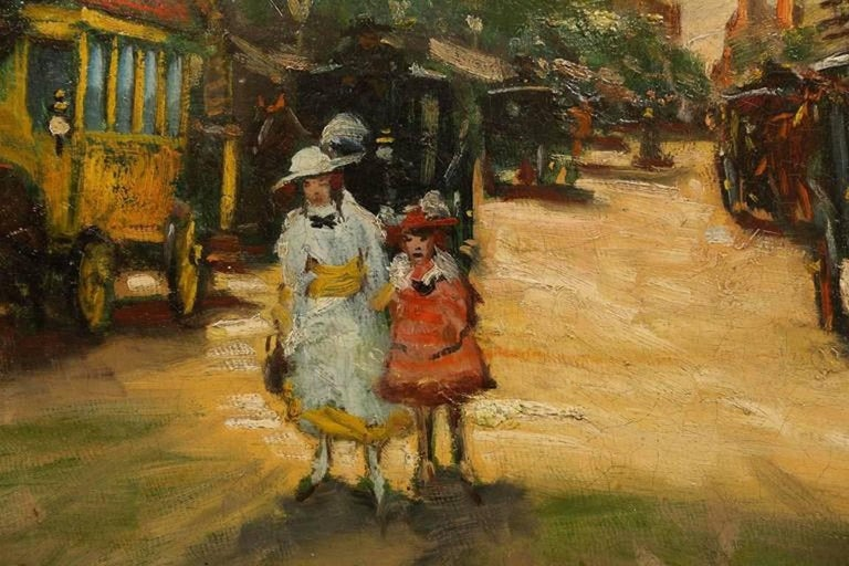Well listed Hungarian artist Berkes Antal (1874 - 1938). Active in Paris, Munich and Budapest.