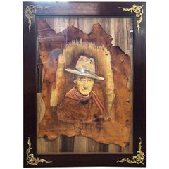 Portrait of John Wayne