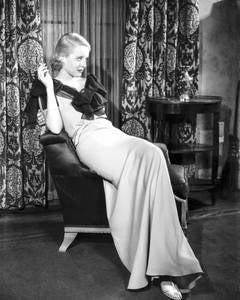 Bette Davis Smoking Fine Art Print