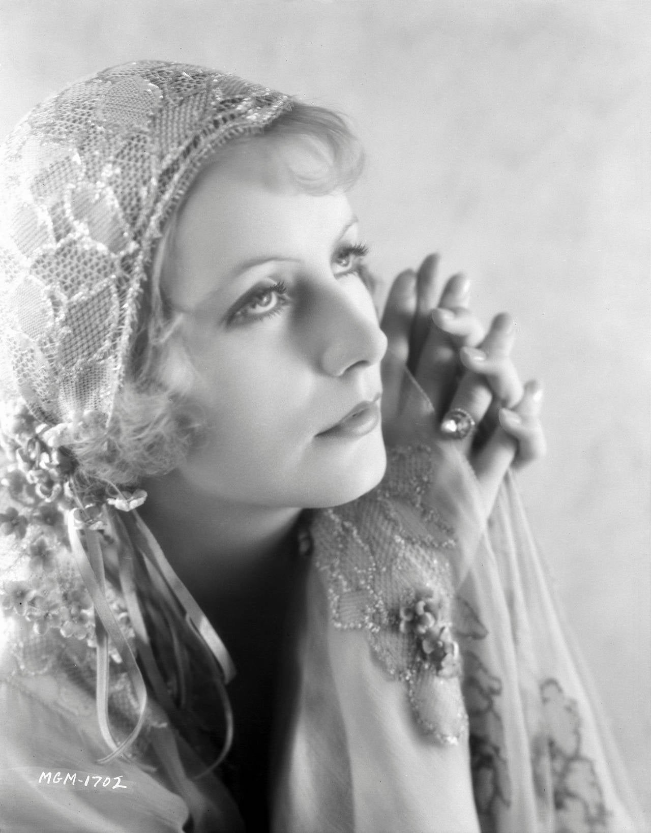 "Ruth Harriet Louise Black and White Photograph - Greta Garbo ""The Temptress"" Fine Art Print"