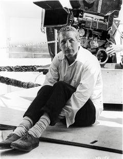 "Paul Newman on the Set of ""Harper"" Fine Art Print"