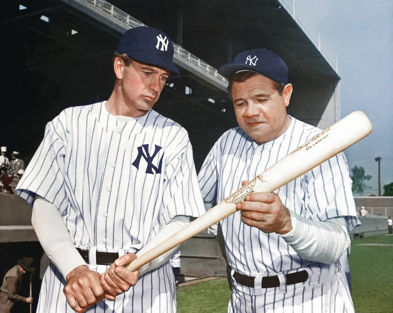 Babe ruth in color-7643