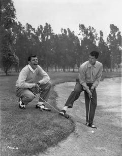 Martin and Lewis Golfing Fine Art Print