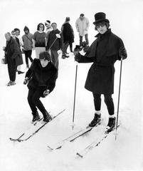 The Beatles Skiing in 1965