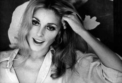 Candid Sharon Tate Smiling Fine Art Print