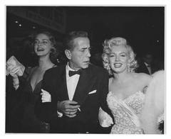 Marilyn Monroe, Humphrey Bogart and Lauren Becall