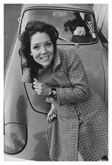 1960's photo DIANA RIGG as SEXY Emma Peels in THE AVENGERS